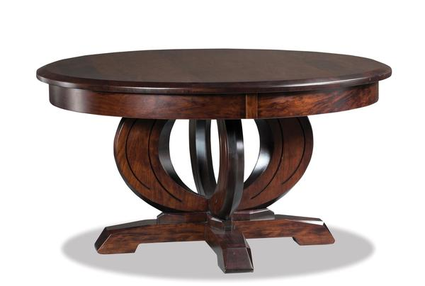 "Amish Saratoga 38"" Round Solid Top Coffee Table"