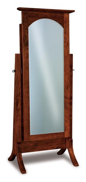 Amish Artesa Beveled Jewelry Mirror