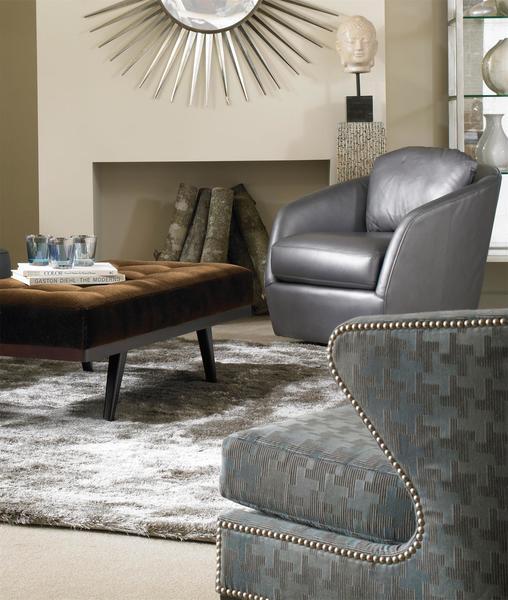 Surprising American Made Gordon Swivel Accent Chair Machost Co Dining Chair Design Ideas Machostcouk
