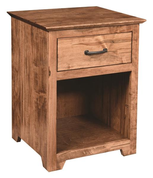 Amish Youth Contemporary 1-Drawer Nightstand