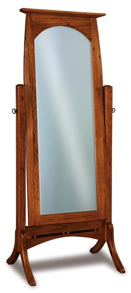 Amish Boulder Creek Cheval Mirror