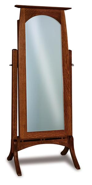 Amish Boulder Creek Beveled Jewelry Mirror