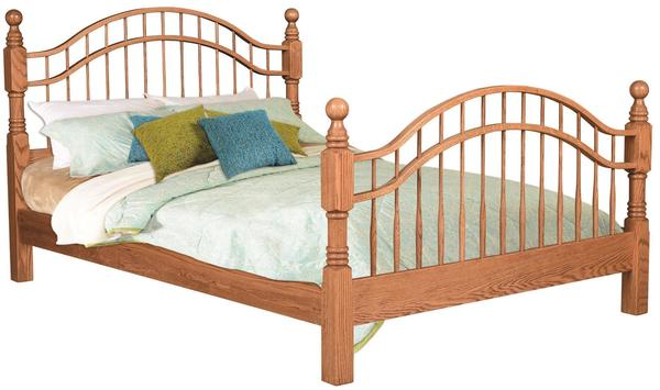 Amish Country Double Bow Bed