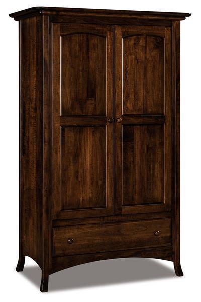 Amish Carlisle Wardrobe Armoire