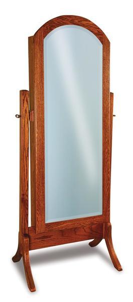 Amish Carlisle Beveled Arched Mirror