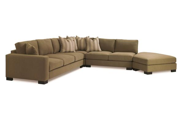 Jake Sectional with Bumper Ottoman