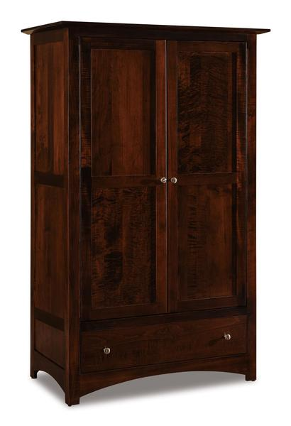 Amish Finland Wardrobe Armoire From Dutchcrafters Amish
