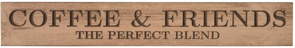 American Made Primitive Plank Sign - Coffee & Friends: The Perfect Blend