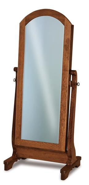 Amish Chippewa Sleigh Beveled Mirror