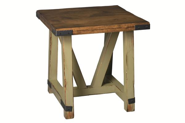 Amish Olde Farmstead Large End Table