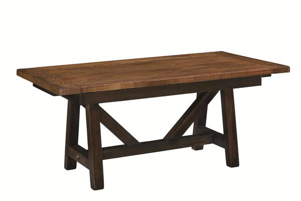 Amish Farmstead Extension Dining Table