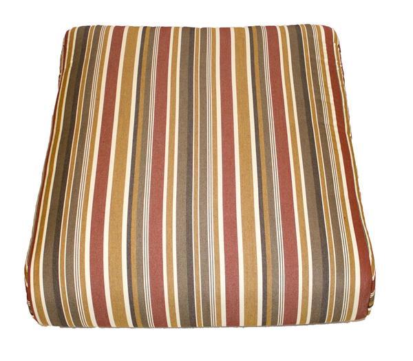 Berlin Gardens Classic Terrace Seat Cushion