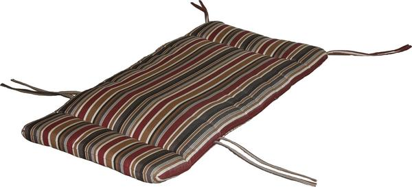 Berlin Gardens Casual-Back Chaise Lounge Seat Cushion