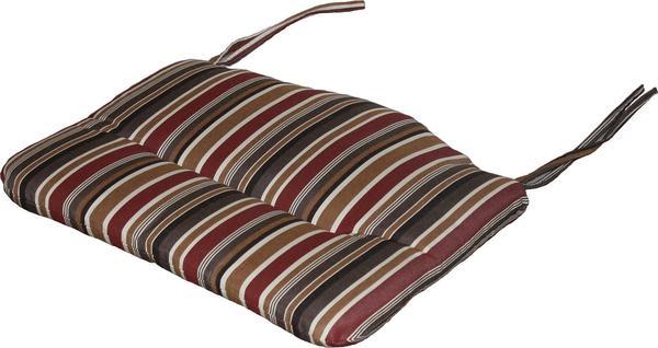 Berlin Gardens Single Comfo and Cozi-Back Seat Cushion