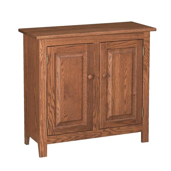 Amish Shaker 2-Door Console Table