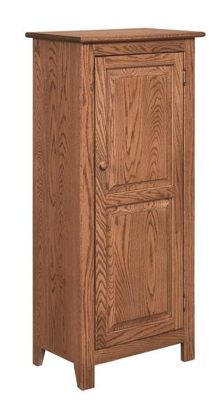 Amish Shaker 1-Door Jelly Cabinet