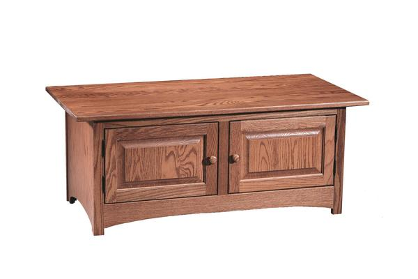 Amish Shaker 2-Door Coffee Table