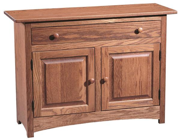Amish Shaker Hall Console Table