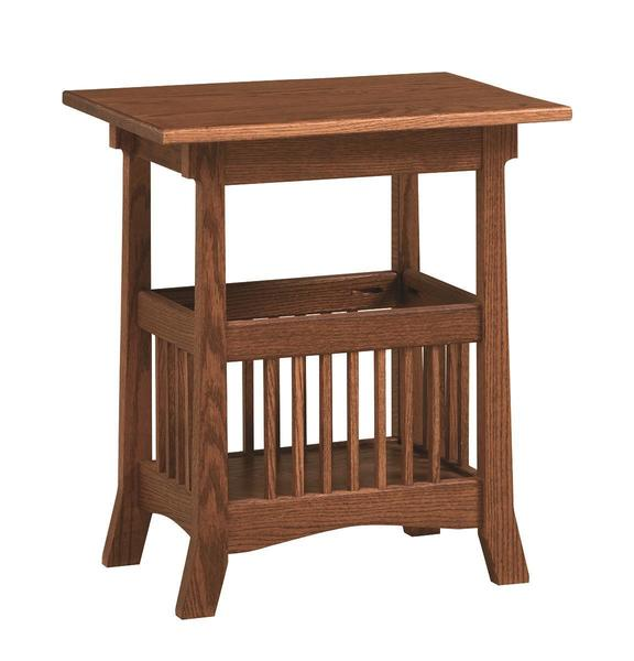 Amish Royal Magazine Table