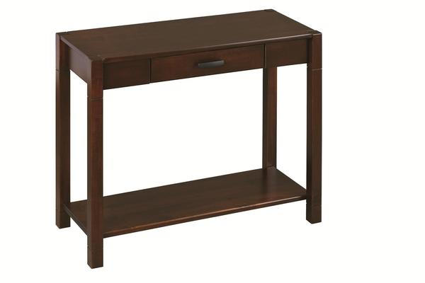 Amish Gap Console Table with Drawer