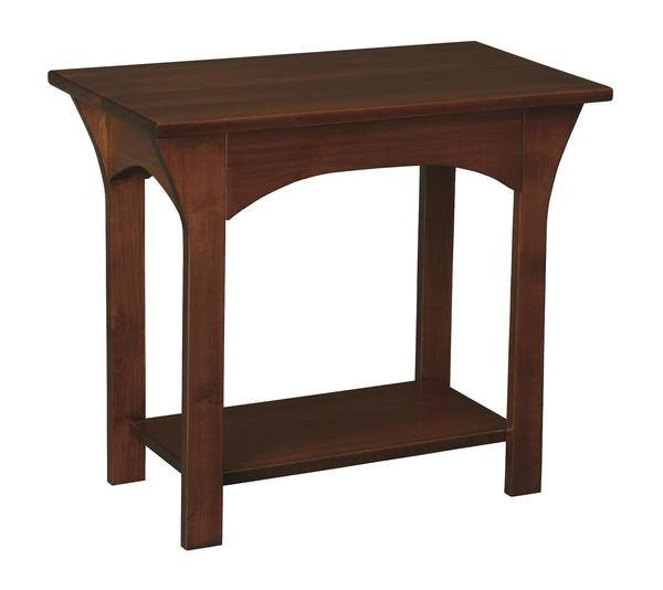 Amish Monarch Chairside Table