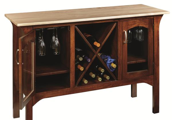 Amish Monarch Wine Server