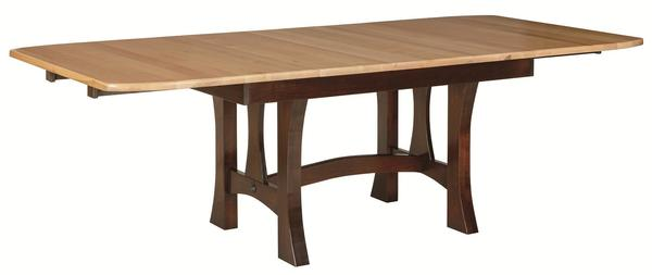 Amish Monarch Solid Wood Extendable Dining Table