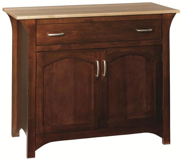 Amish Monarch Solid Wood Buffet Sideboard