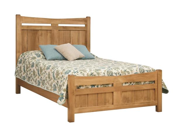 Amish Homestead Panel Bed
