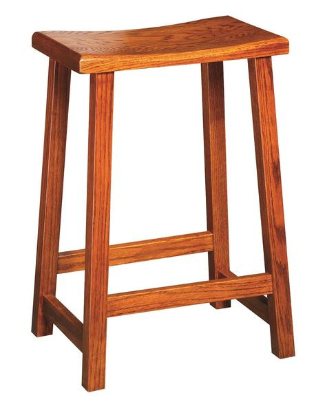 Amish Contemporary Bar Stool