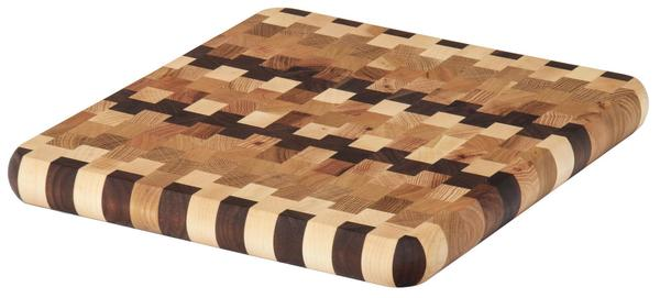Amish End Grain Checked Large Cutting Board