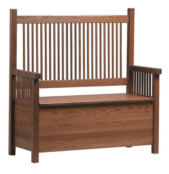 Amish Mission Deacons Bench