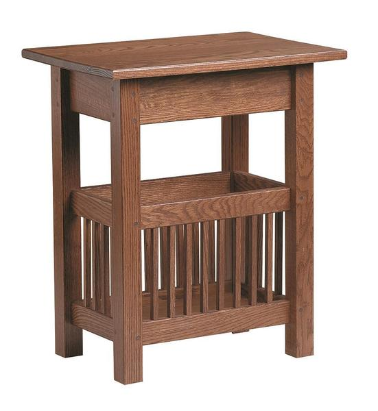 Amish Mission Magazine End Table