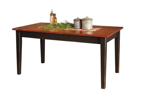 Amish Pine Farm Dining Table