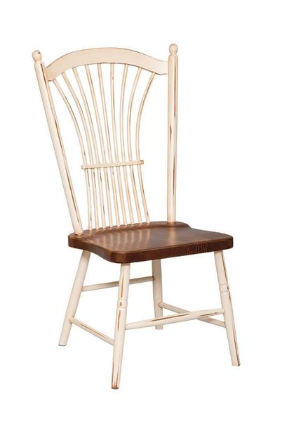 Amish Wheat Back Dining Chair