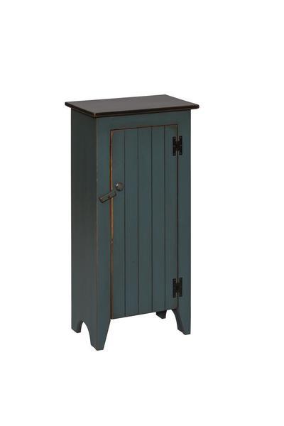 Amish Pine Single Door Jelly Cupboard