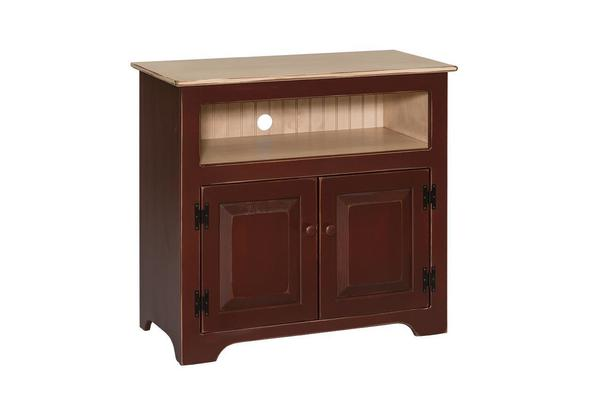 Amish Pine Small TV Console