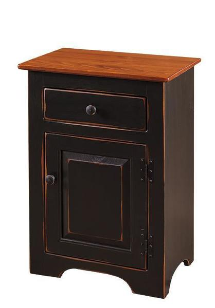 Amish Pine 1-Door Night Stand