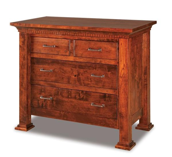 Amish Empire Four Drawer Child's Chest