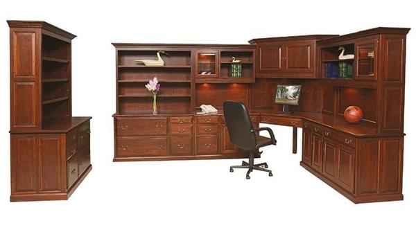 Amish Office Furniture Set - Made in America