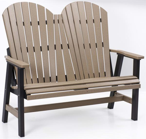 Berlin Gardens Patio Comfo-Back Poly Love Seat