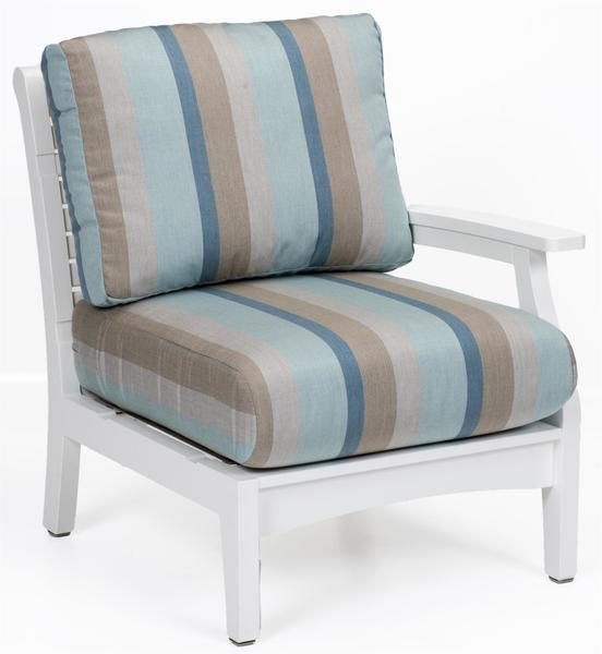 Berlin Gardens Classic Terrace Left Arm Club Chair