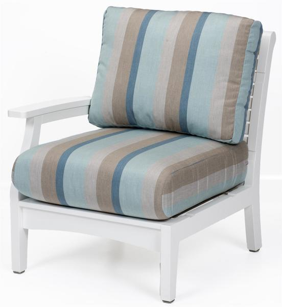 Berlin Gardens Classic Terrace Right Arm Club Chair