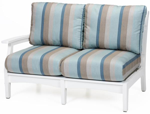 Berlin Gardens Classic Terrace Right Arm Loveseat