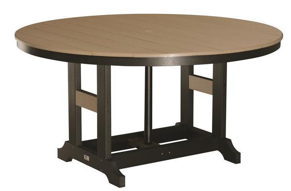 """Berlin Gardens 60"""" Round Poly Dining Table"""