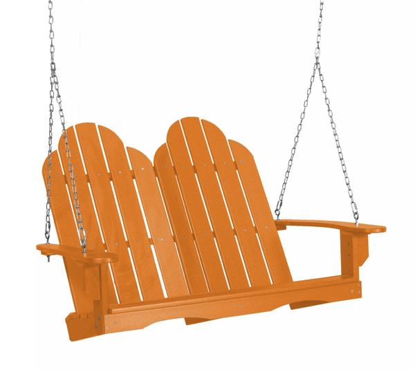 Outdoor Poly Furniture Adirondack Swing