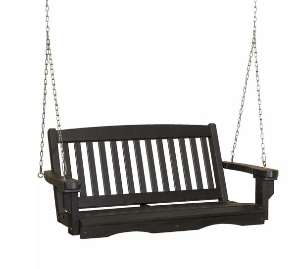 Outdoor Poly Furniture Mission Swing