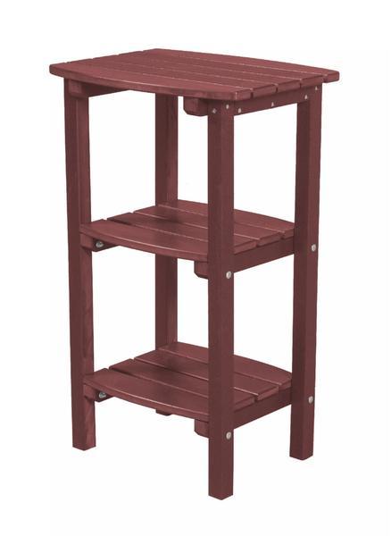 EcoPoly 3 Shelf Side Table