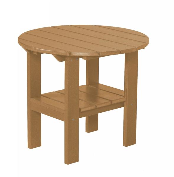 Outdoor Poly Furniture Round Side Table