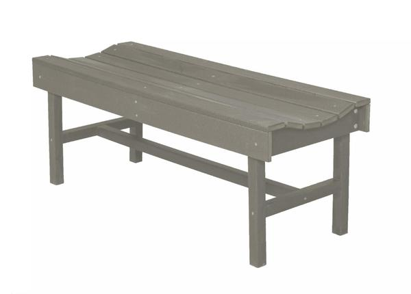 Outdoor Poly Furniture Vineyard Bench